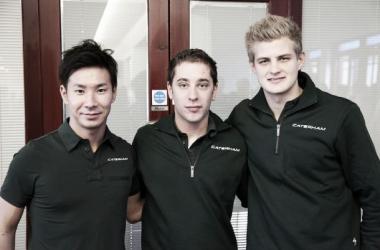 Kobayashi e Ericsson formam dupla da Caterham e completam grid de 2014
