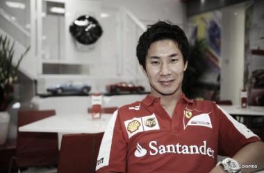 Kobayashi left the Ferrari setup to join Caterham