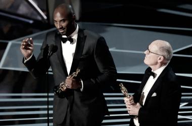 Kobe Bryant consigue su primer Oscar