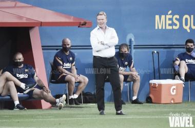 Ronald Koeman durante un partido / FOTO: Noelia Déniz - VAVEL
