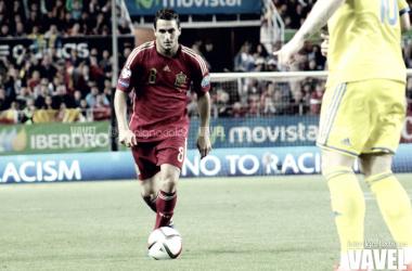 Koke, en un partido con España/ Fuente: VAVEL ESPAÑA