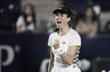 Konta supera Clijsters em Monterrey e vence primeira no ano