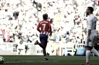 Griezmann, en el Bernabéu como en casa