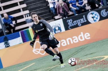 Seattle Reign goalkeeper Haley Kopmeyer named NWSL Player of the Week | Source: E.Sbrana - Earchphoto