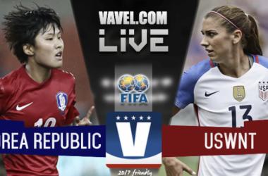 USA vs. Korea Republic on October 22nd, 2017