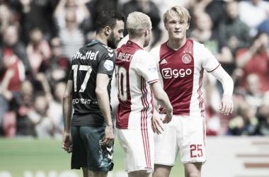 El Ajax debe ganar la próxima fecha y esperar que el Feyenoord no sume de a tres para ser Campeón. (Foto: ajax.nl)