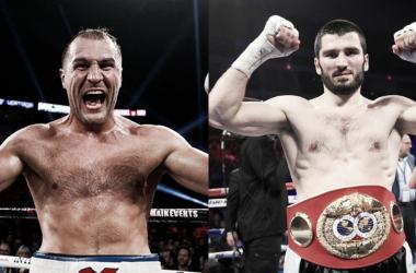 Rusos, campeones mundiales del mismo peso y una pegada demoledora, características que comparten ambos peleadores (Fotomontaje: Adrián Gallardo)