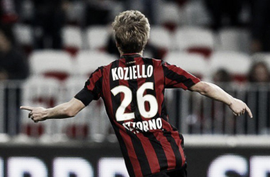 Koziello has now made 27 senior appearances for OGC Nice since joining their youtb set up in 2013.
