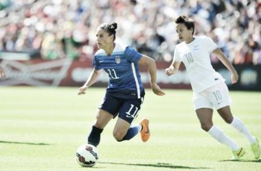 Em busca do quinto ouro no Futebol Feminino, EUA encaram Nova Zelândia no Mineirão