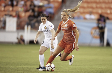 Utah and Houston battled it out to a 0-0 draw. | Source: Houston Dash