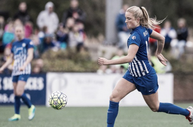 After three seasons in her hometown, Mewis has been traded to the Spirit. (Source: NWSLSoccer.com)