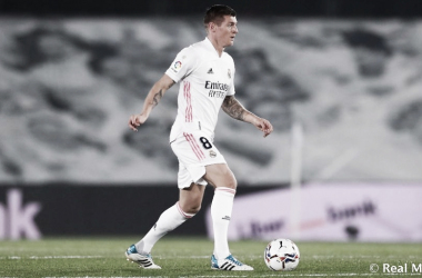Kroos cumple 300 partidos con el Real Madrid en El Sadar