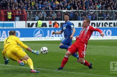 Karlsruher SC 0-3 Fortuna Düsseldorf: Hennings becomes Karlsruhes' nightmare