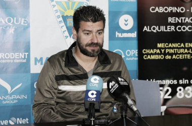 """Estévez: """"Trataremos de sacar un resultado favorable para decidir en Marbella"""""""