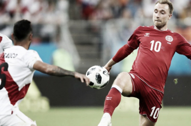 Perú - Dinamarca: puntuaciones de Dinamarca, jornada 1 del Grupo C del Mundial 2018