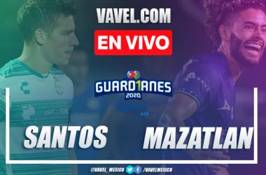 Goles y resumen: Santos Laguna vs Mazatlán FC en Liga Mx Guard1anes 2020