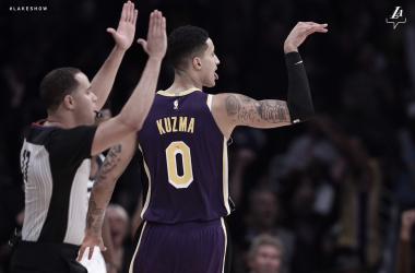 Foto vía: LA Lakers.