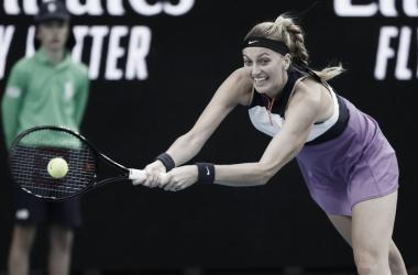 Petra Kvitová venceu Anastasia Pavlyuchenkova no Qatar Open 2021 (Foto: Divulgação/WTA)