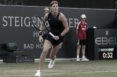 Petra Kvitová venceu Katarzyna Piter noWTA 250 de Bad Homburg 2021 (WTA / Divulgação)
