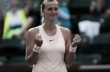 Petra Kvitova celebrates the hard-fought and emotional victory | Photo: Jimmie48 Tennis Photography