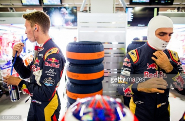 Kvyat and Sainz will partner each other for a second season