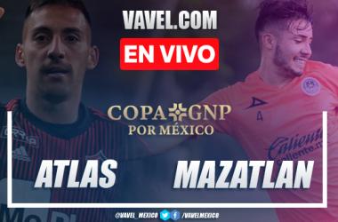 Atlas 1-0 Mazatlán: resumen y gol del partido