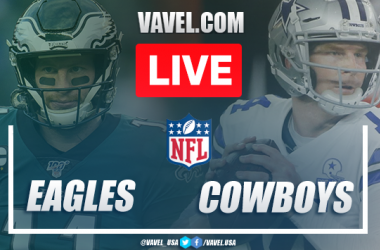 Touchdwns and Highlights Eagles 17-37 Cowboys on NFL 2020