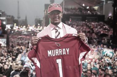 Kyler Murray fue elegido en el pick global nº1 del Draft 2019 (foto NFL.com)