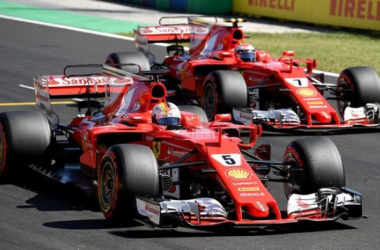 Les Ferrari ont dominé ce week-end hongrois.     Photo : lexpress.fr