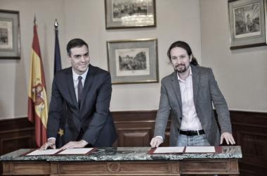 Pacto de Gobierno: Unidas Podemos y PSOE