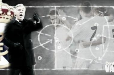 La pizarra de Ancelotti: análisis táctico del Málaga