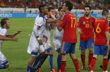 Chile vs España. Sudáfrica 2010. (Foto: web)