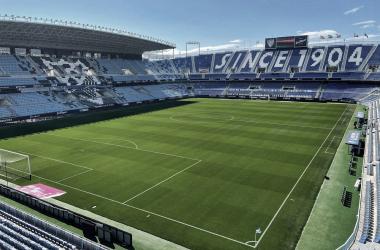 La Rosaleda / Foto: Málaga CF