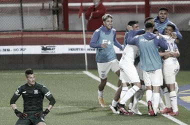 Badaloni, Bullaude y Ojeda anotaron en la goleada que frenó a Independiente. Foto: La Voz.
