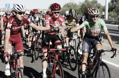 Celebración etapa 21 Vuelta a España 2017 / Foto:lavuelta.es