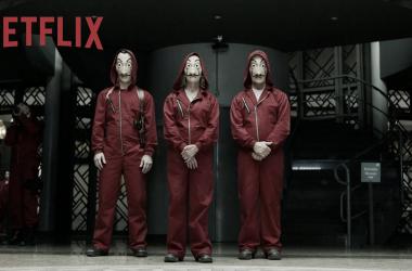 Fotograma de la Casa de Papel en su tercera temporada |    Fuente: Netflix
