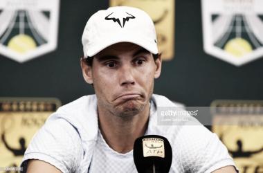 Rafa Nadal no estará tampoco en las ATP World Tour Finals. Foto: Getty Images.