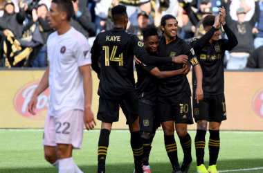Los Angeles FC 1-0 Inter Miami CF: Carlos Vela's first-half strike earns LAFC opening day victory over MLS debutants
