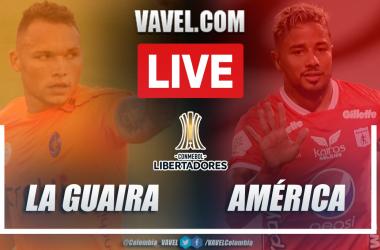Resumen La Guaira vs América (0-0) en la fecha 3 del Grupo H por Copa Libertadores 2021