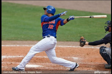 Juan Lagares was 2 for 3 with a two-run home run Wednesday.