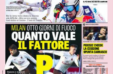 Prime pagine: rassegna stampa / Quotidiani sportivi