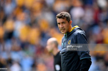Bruno Lage will lead Wolves in to the new campaign. Photo:(Photo by Ross Kinnaird/Getty Images)