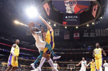 NBA - Lakers travolti, passa anche Charlotte. Washington in volata espugna Memphis - Foto Hornets Twitter