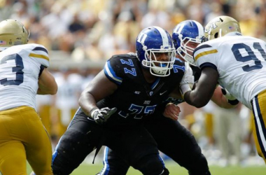 Detroit Lions Select Laken Tomlinson After Trading Down