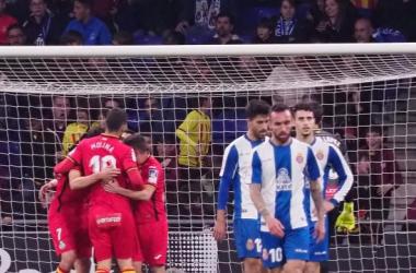 Unos celebran (Getafe)y otros lamentan (Espanyol) / laliga.es