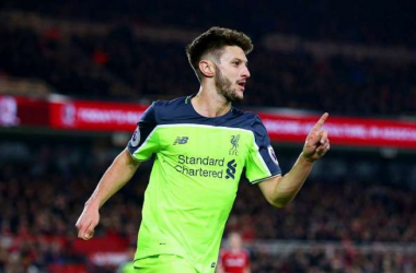 Lallana: I'm excited ahead of the derby
