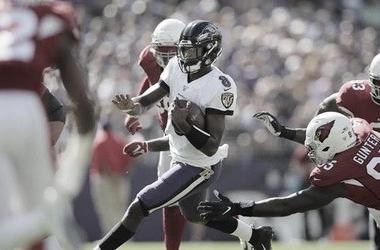 La velocidad de Lamar fue una de las claves en la victoria de Ravens. Foto: NFL