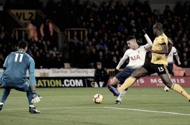 Lamela por marcar el primero de su equipo. Foto: Premier League