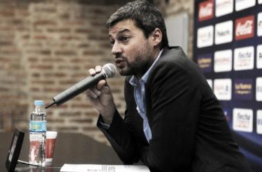 """Matías Lammens: """"El objetivo es tener un equipo conformado con mayoría de jugadores surgidos del club"""""""