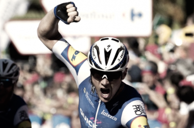 Primeira vitória numa Grande Volta para o belga // Fonte: Sky Sports